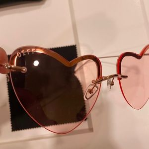"""DIFF """"Remy"""" Pink-ish 💖Sunglasses💖 Metal Frames"""